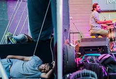 Backstage series | Madras Jazz festival 2017 (Vijayaraj PS) Tags: music streetphotography indianstreetphotography artists backstage candid india asia tamilnadu southindia iamnikon performers people eventphotography performer onstage stage 2017 event nikon colours jazz jazzmusic band gig gigmusic drummer sleep