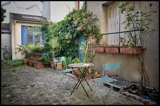 Impasse, rue de Bagnolet, Paris