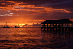 DSCF2920 RAW (Mr Inky) Tags: 18135mmf3556 fujixt1 hanaleibay hawaii kauai sunset