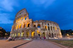 """Colosseum (Herve """"Setaou"""" BRY) Tags: rome heurebleue italie architecture crépuscule colisée nuit expositionlongue arène arena bluehour colosseo colosseum dusk italy longexposure night roma sunset lazio it"""