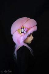 Black Portrait (Melu Dolls) Tags: melu meludoll meludolls jid i iplehouse tan teal skin pink wig portrait black