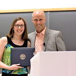 Kelsey Howard, Honors in Psychology & James Spoor Scholarship; Professor Daniel Simons