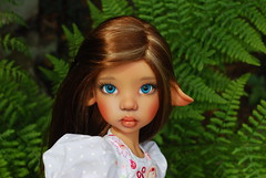 F is for faun (Little little mouse) Tags: tanlaryssa kayewiggs tansy bjd dollfie fern