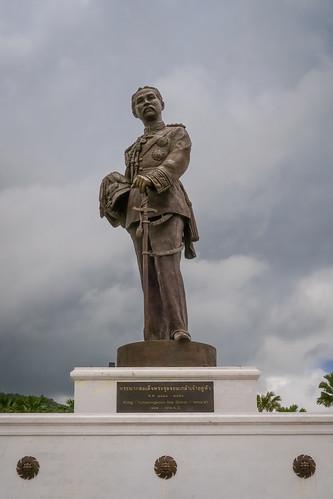 King Chulalongkorn (Rama V), Rajabhakri Park, Hua Hin, Prachuap Khiri Khan