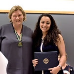 Professor Nicole Allen; Yara Mekawi, Sarah C. Mangelsdorf Award
