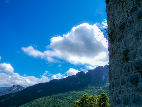 Puilaurens - outside southeast tower