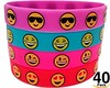 O'Hill 40 Pack Emoji Wristband Silicone Emoticons Bracelets for Kids and Adult Birthday Party Supplies Favors Prize Rewards (saidkam29) Tags: adult birthday bracelets emoji emoticons favors kids ohill pack party prize rewards silicone supplies wristband