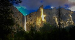 The Range of Light (The VIKINGS are Coming!) Tags: yosemite waterfall anseladams mountains godswork sunset spectacular shangrila