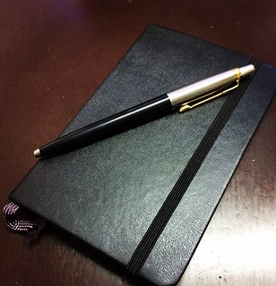 #Work #Office #Moleskine #Parker