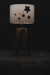 POTW: Silhouettes (VictoriaRose.Photography) Tags: silhouette silhouttes lamp stars diy photography assignment nikon kmart night light