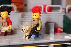 Pew pew (Devid VII) Tags: devidvii moc taco lego happiness weapon detail diorama scene war post apoc military crew pewpew