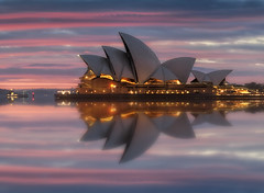 Reckless (EmeraldImaging) Tags: sydney sydneyharbour sydneyoperahouse operahouse nsw australia harbour sunrise clouds seascape sunset