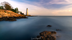 Two Lights Better than One (Simmie | Reagor - Simmulated.com) Tags: 2017 connecticut connecticutphotographer fivemilepointlight landscape landscapephotography lighthousepointpark lighthouse longislandsound may nature naturephotography newhaven ocean outdoors outdoorsseascape seascape southwestledgelight spring sunset unitedstates beach digital https500pxcomsreagor httpswwwinstagramcomsimmulated water wwwsimmulatedcom us
