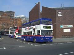2995 Birmingham 2009 (MCW1987) Tags: travel west midlands twm mcw metrobus mk2 mk2a 2995 f995xoe perry barr