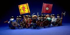 Bare-Arsed Banditti (Macsen Wledig) Tags: bricktothepast lego history scotland scottish jacobites minifigs