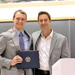 Robert Micheal Clark, Ed Diener Award; Professor Brent Roberts