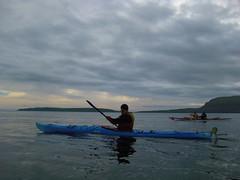 Sunday Morning (Jan Egil Kristiansen) Tags: img0422 kayak bluekayak daggerseeker nólsoy faroeislands