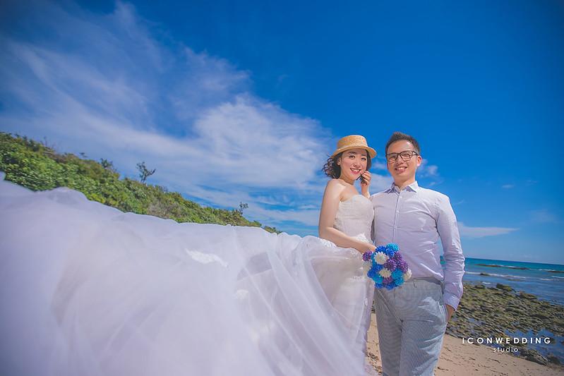 墾丁,拍婚紗,婚篩攝影,紛絲團,藍天白雲