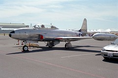 "Lockheed T-33A Shooting Star 1 • <a style=""font-size:0.8em;"" href=""http://www.flickr.com/photos/81723459@N04/34837981616/"" target=""_blank"">View on Flickr</a>"