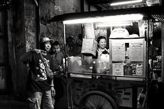 Snacktime (wimkappers) Tags: blackwhitephotos bw monochrome street people skancheli city bangkok