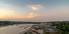 The Marina (Island Way Photography) Tags: sunset sky colour clouds river water sand mud boats marina sony 2470mm f40 landscape beautiful ships