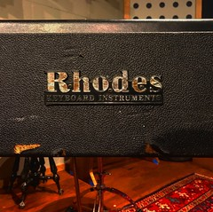 Classic Name / Classic Sound (Pennan_Brae) Tags: piano rhodes fender recordingsession recordingstudio keyboard recording music musicphotography musicstudio 70s 1970s vintage vintageinstrument electricpiano fenderrhodes