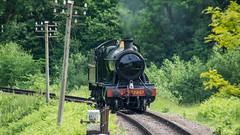 SVR 01 June 2017 (44) (BaggieWeave) Tags: worcestershire shropshire svr severnvalleyrailway heritagerailway vintage steam steamengine steamlocomotive steamtrain gwr greatwesternrailway 280 28xx highley 2857