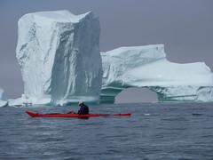 Icebergs - Greenland (Jersey Sea Kayaking) Tags: greenland disko bay kayaking kayaker