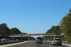 Florida I95nb Old Kings Road Overpass (MJRGoblin) Tags: flaglercounty 2017 interstate95 palmcoast florida