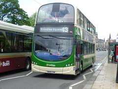 Lothian Country 935 in Princes Street, Edinburgh, inbound to St Andrew Square. (calderwoodroy) Tags: edinburghtransport sn09cvw lothianbuses bus 935 lothiancountry doubledecker princesstreet scotland edinburgh