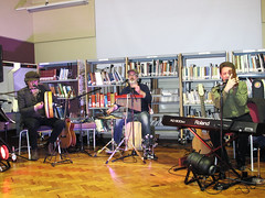 Chris Conway & Dan Britton @ Kettering Library (unclechristo) Tags: chrisconway danbritton ketteringlibrary