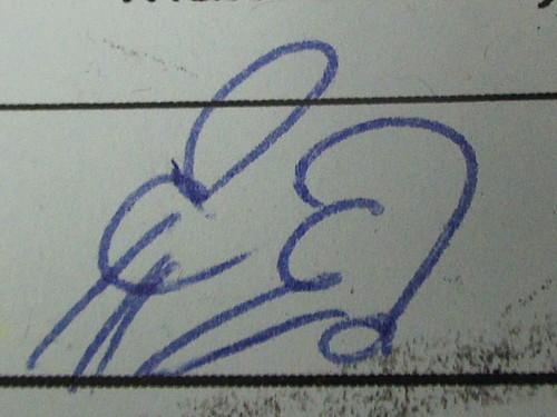 Zajův podpis