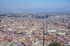 Naples - view from Castel Sant'Elmo, Naples (SomePhotosTakenByMe) Tags: castelsantelmo festung fortress urlaub vacation holiday italy italien naples napoli neapel city stadt outdoor vomero gebäude building architektur architecture panorama aussichtspunkt viewpoint skyline viadeitribunali