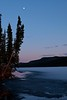 Looking South (MIKOFOX ⌘ Thanks 4 Your Faves!) Tags: canada mikofox bigfoxlake breakup yukon xt2 waterice spruce learnfromexif landscape provia hills may fujifilmxt2 spring showyourexif moon xf18135mmf3556rlmoiswr