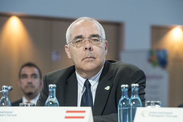 Christian Weissenburger attending the Closed Ministerial