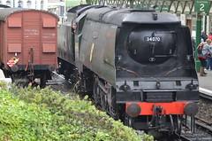 34070 Manston (shutcho1973) Tags: 34070 manston battle britain class swanage railway steam train dorset
