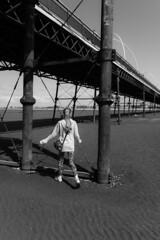 Under the Pier (paul_taberner_photography) Tags: southportpier blackwhite blackandwhite