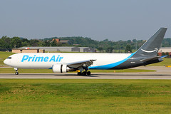 Prime Air 767-300F rolling out at CVG (chrisjake1) Tags: primeair amazon 767 767300 763f 763 767300f n331az boring cargo freighter cvg kcvg cincinnati covington