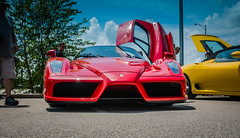 Ferrari Enzo (EEngler) Tags: 2017 europeancarshow carshow cars stlouiseuropeancarshow ferrari ferrarienzo red enzo redferrari