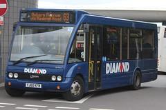 Diamond Optare Solo 20744 (YJ60 KFN) (Tividale) (john-s-91) Tags: diamond optaresolo 20744 yj60kfn wolverhampton wolverhamptonroute63