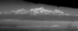 NEPAL, Flug entlang dem Himalaya , 16237/8544