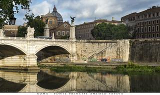 Roma - Ponte Principe Amedeo Savoia