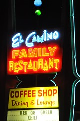 2-101 El Camino Family Restaurant Sign (megatti) Tags: desert elcamino newmexico nm restaurant sign socorro