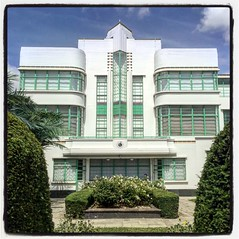 16/06/17 - This is all that's left of The Hoover Building as I remember it. It remains staggeringly beautiful however. (ordinarynomore) Tags: artdeco architecture hooverbuilding westlondon perivale centralline thatlondon london