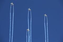 20170609-205304-Canon-EOS-6D-IMG_10339 (Mandibela) Tags: kaivariairshow kaivari2017 kaivopuisto helsinki air show 20170609 09062017 myhelsinki kaivopuiston lentonäytös baesystemshawk bae hawk midnighthawks tikkakoski areobatics faf finnishairforce ilmavoimat 2017 diamond night formation flying mk51 airshow aerobatics