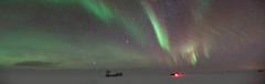 South Pole DarkSector  View (redfurwolf) Tags: southpole southpolestation southpoletelescope spt antarctica antarctic auroraaustralis aurora panorama pano sky night nightsky outdoor darksector stars nature landscape redfurwolf sonyalpha a99ii sal2470f28za sony clouds
