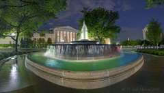 Andrew Mellon Fountain (D. Scott McLeod) Tags: washingtondc dc districtofcolumbia fountain andrewmellonfountain nationalgalleryofart dawn longexposure dscottmcleod scottmcleod