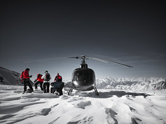 Helyski (simonerossi129) Tags: helicopters helicopter mountain sport winter snow matterhorn neve matteron cervino montagna sci elicottero helicipter