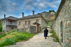 Κυριακή πρωί Sunday morning (Dimitil) Tags: people oldpeople religion pyrsogianni mastorohoria konitsa epirus hellas tradition traditionalsettlements traditionalhouses traditionalvillages traditionalarchitecture stone stonehouses stonevillages traditionalstonevillages picturesquevillages mountain mountainvillages rural ruralscene ruralscenery rurallife life travel travelphotography likeoldtimes
