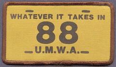 U.M.W.A. Patch (Coalminer5) Tags: coalmining coalminer coalmemorabilia coalcollectibles mining miningmemorabilia miningcollectible miningartifacts patch umwa unitedmineworkersofamerica unionmemorabilia